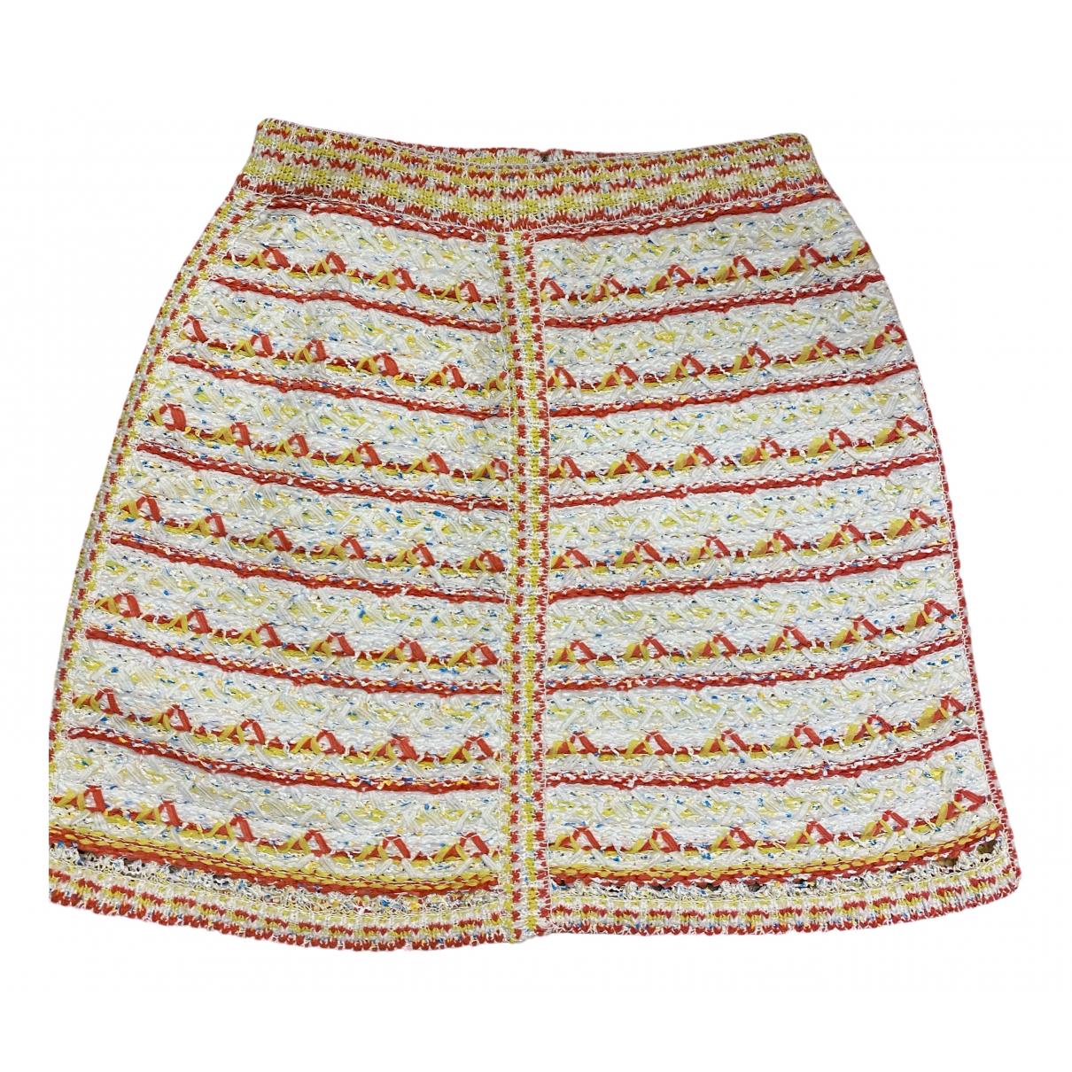 Chanel - Jupe   pour femme en coton - elasthane - multicolore