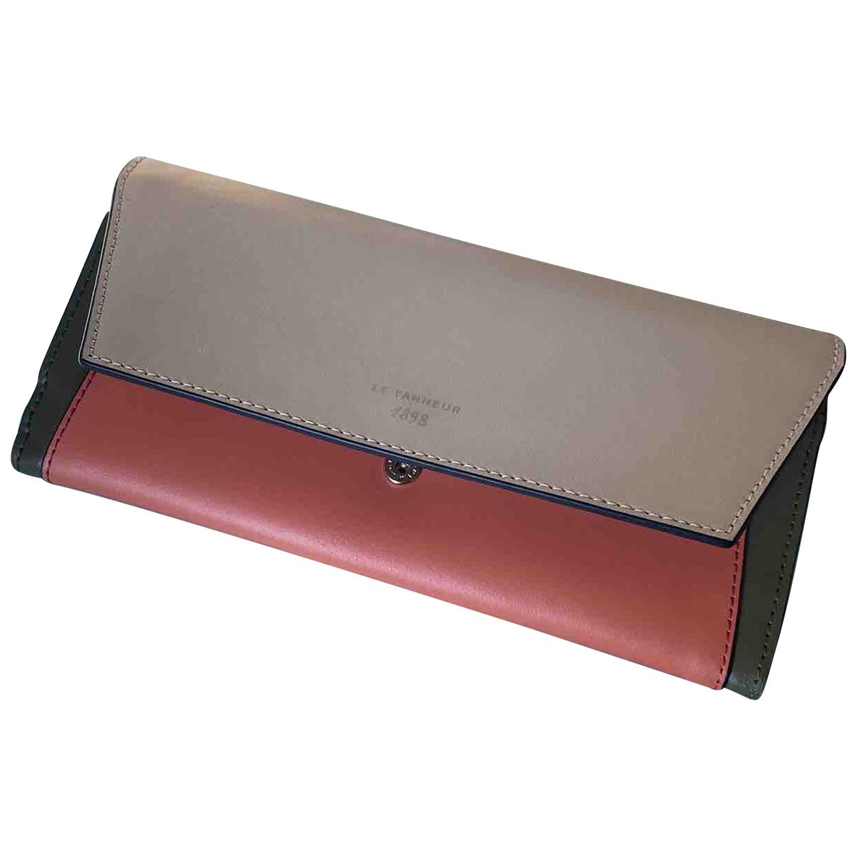 Le Tanneur - Portefeuille   pour femme en cuir - multicolore