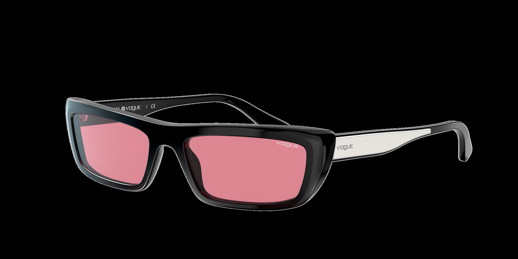 Vogue Eyewear Unisex  VO5283S Gigi Hadid x Vogue Eyewear -  Frame color: Negro, Lens color: Rosa, Size 54-17/140