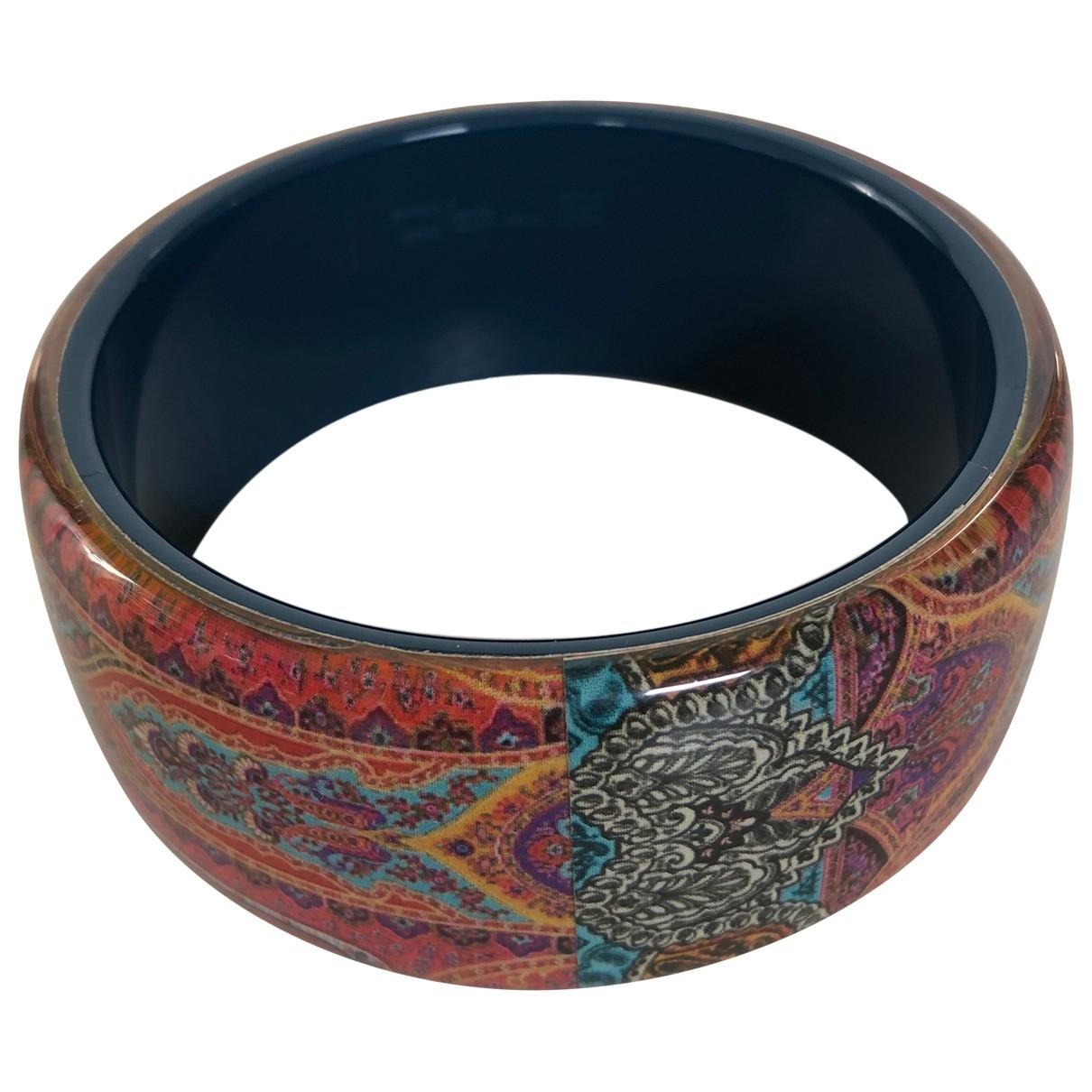 Etro \N Armband in  Bordeauxrot Kunststoff