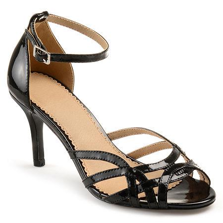 Journee Collection Womens Moyra Pumps Stiletto Heel, 10 Medium, Black