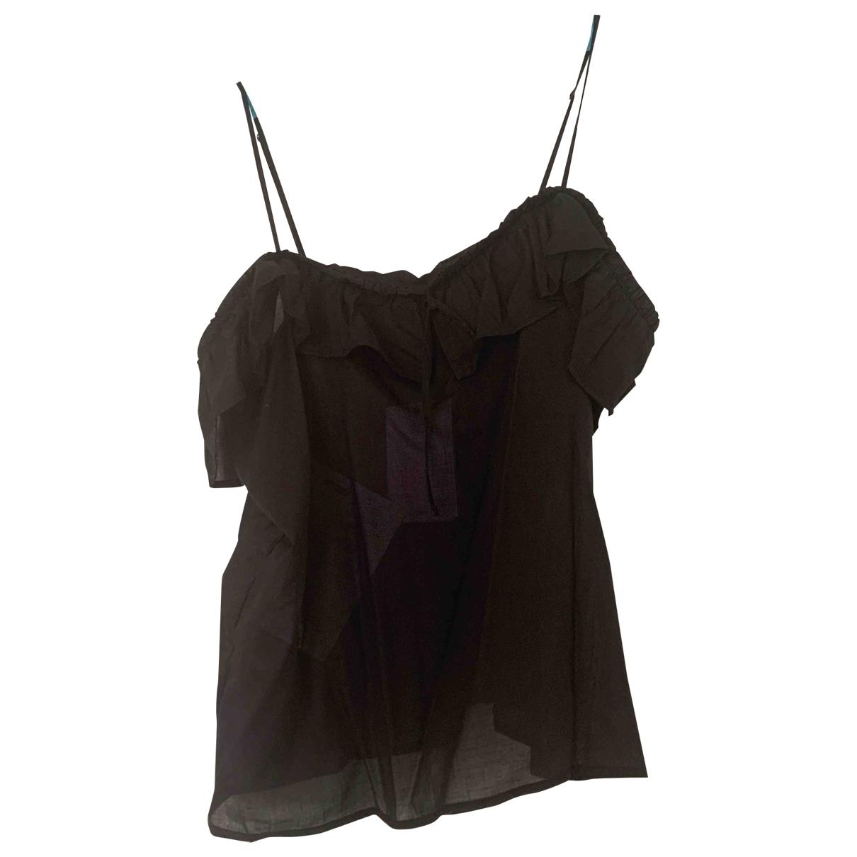 Anine Bing \N Black Cotton  top for Women XS International