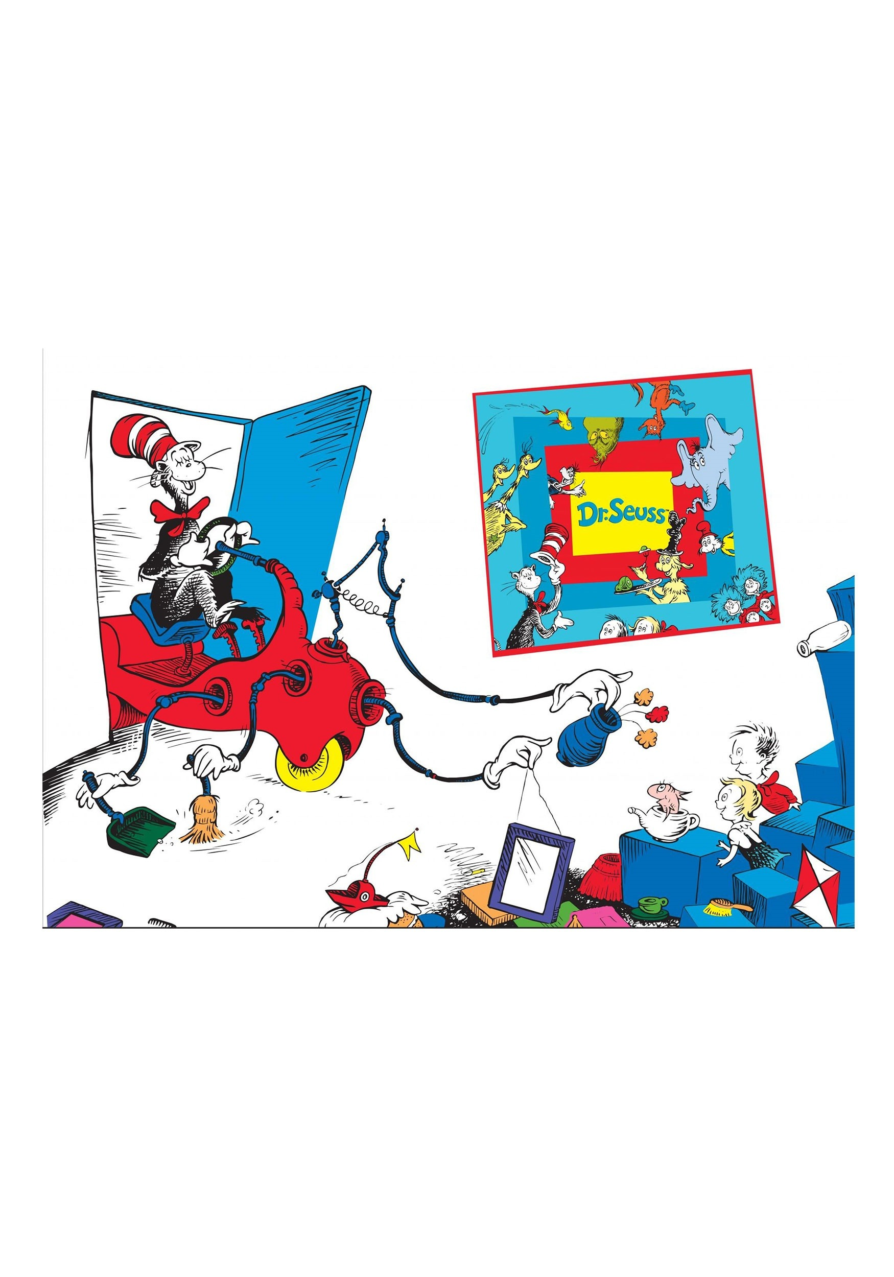 The Cat in the Hat Dr. Seuss - 24 Piece Floor Puzzle