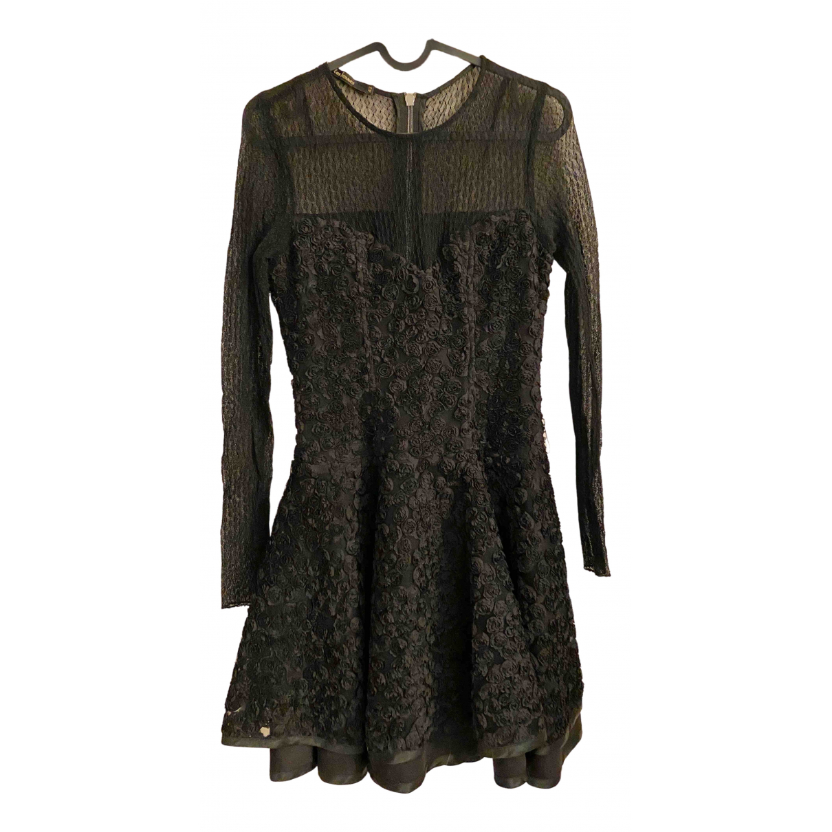 Non Signé / Unsigned \N Black Lace dress for Women 42 IT
