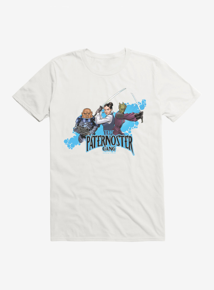 Doctor Who The Paternoster Gang T-Shirt