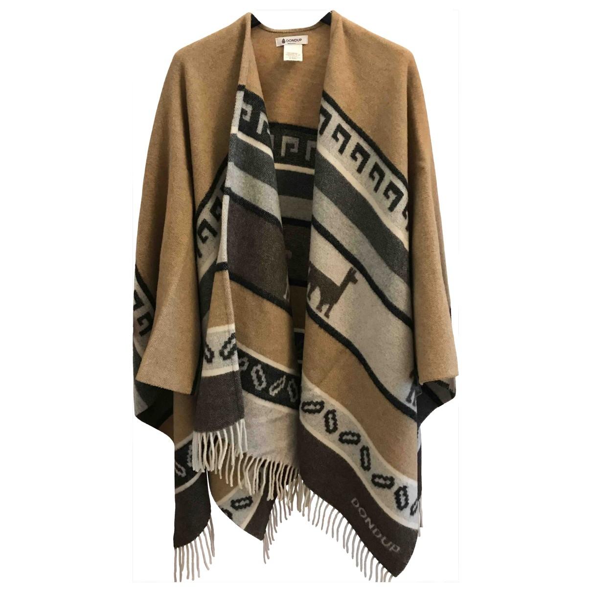 Dondup - Veste   pour femme en laine - beige