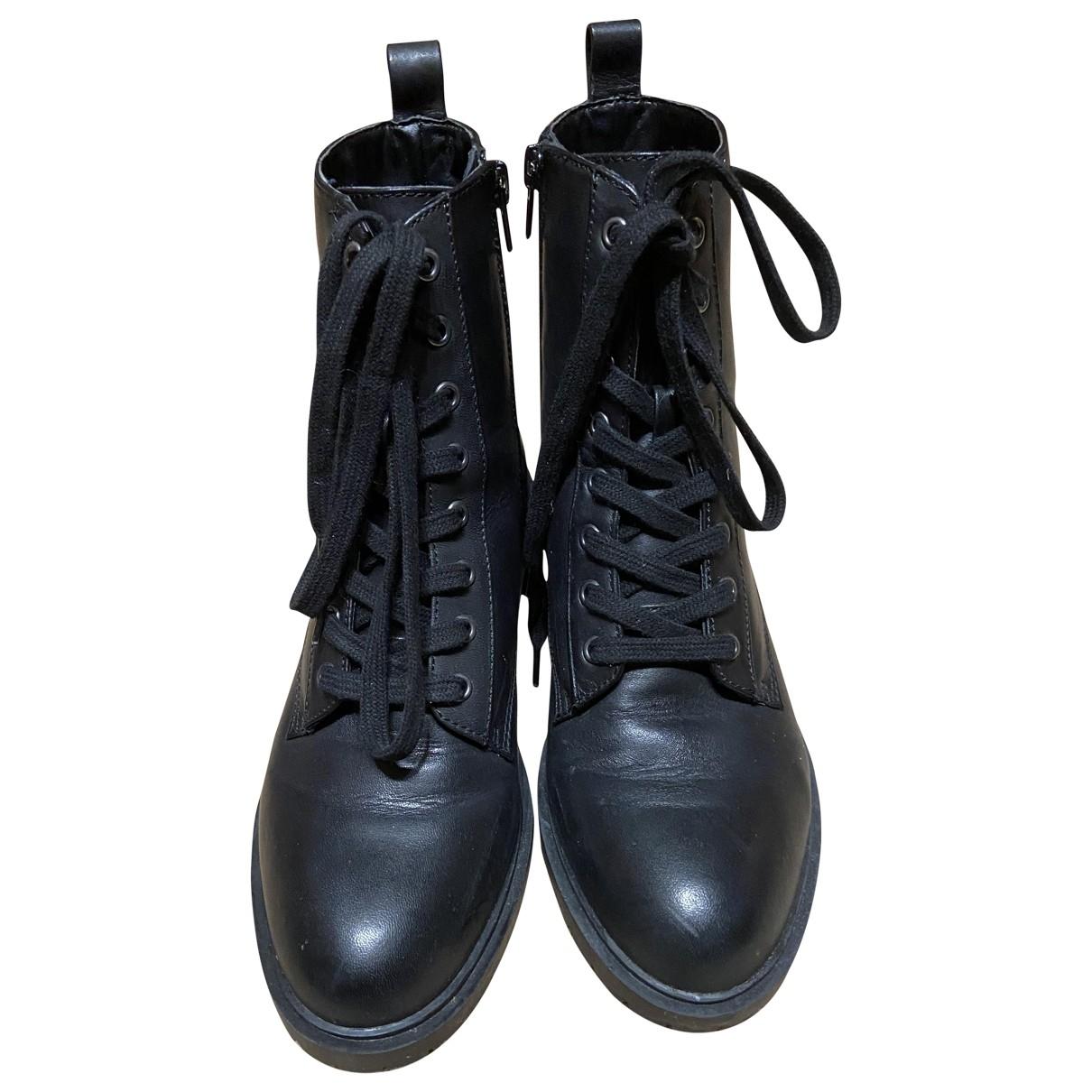 Steve Madden - Bottes   pour femme en cuir - noir