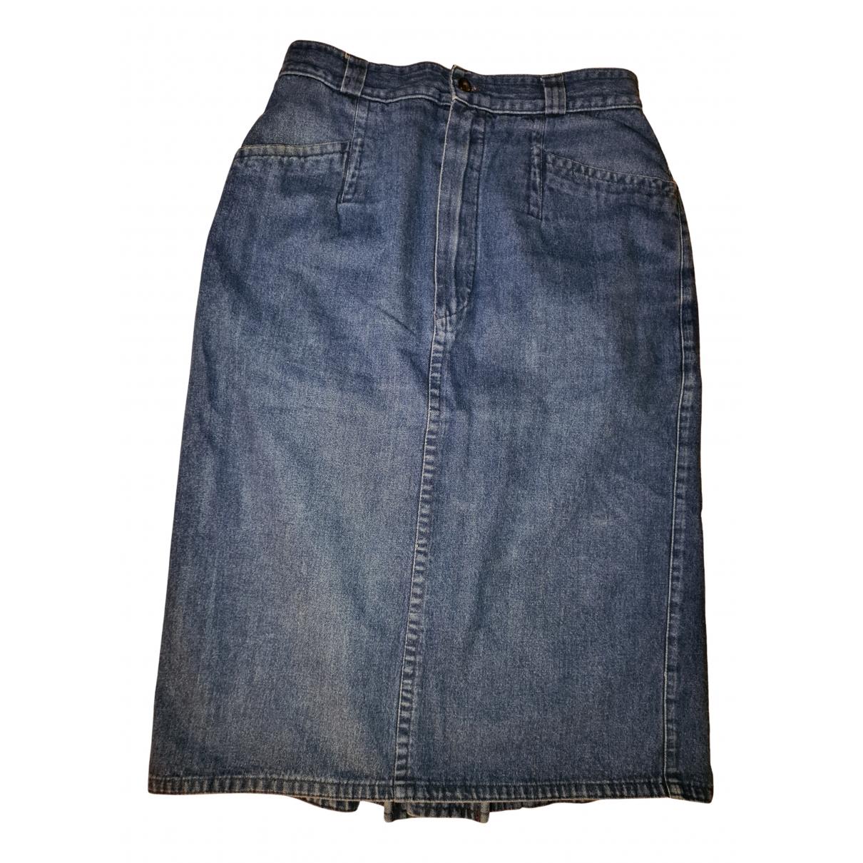 Strenesse \N Rocke in  Blau Denim - Jeans