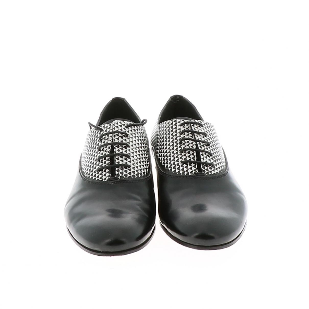 Proenza Schouler - Derbies   pour femme en cuir - noir