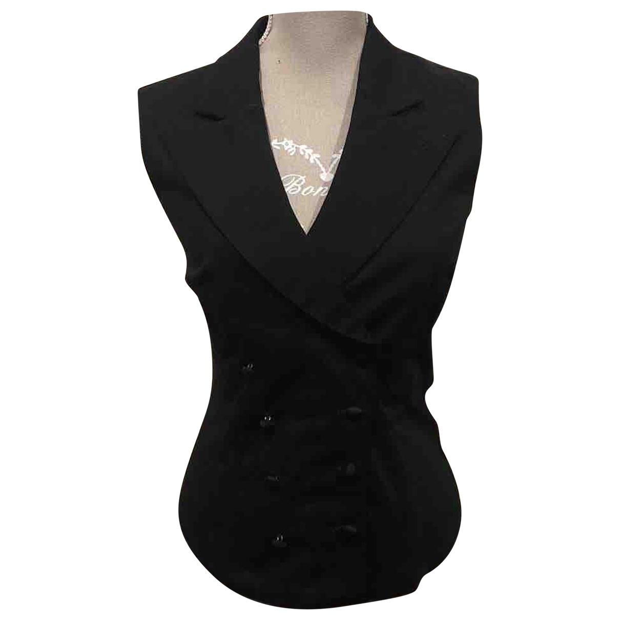Armani Jeans \N Black Cotton Knitwear for Women 40 IT