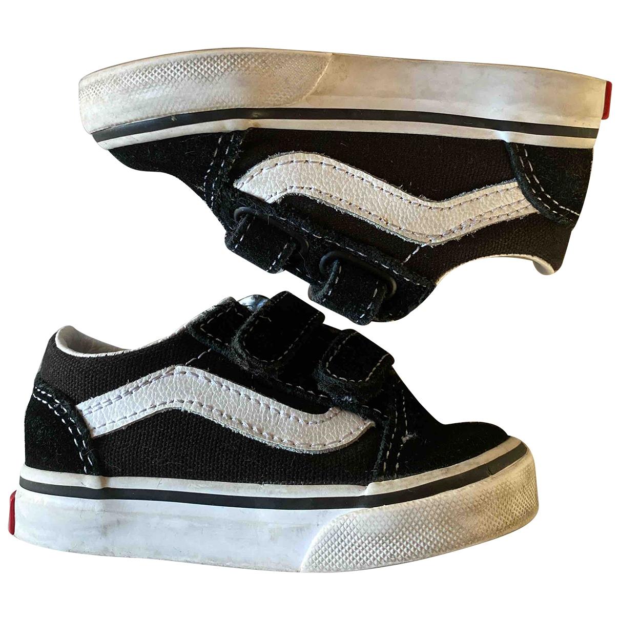 Vans \N Black Cloth Trainers for Kids 20 EU
