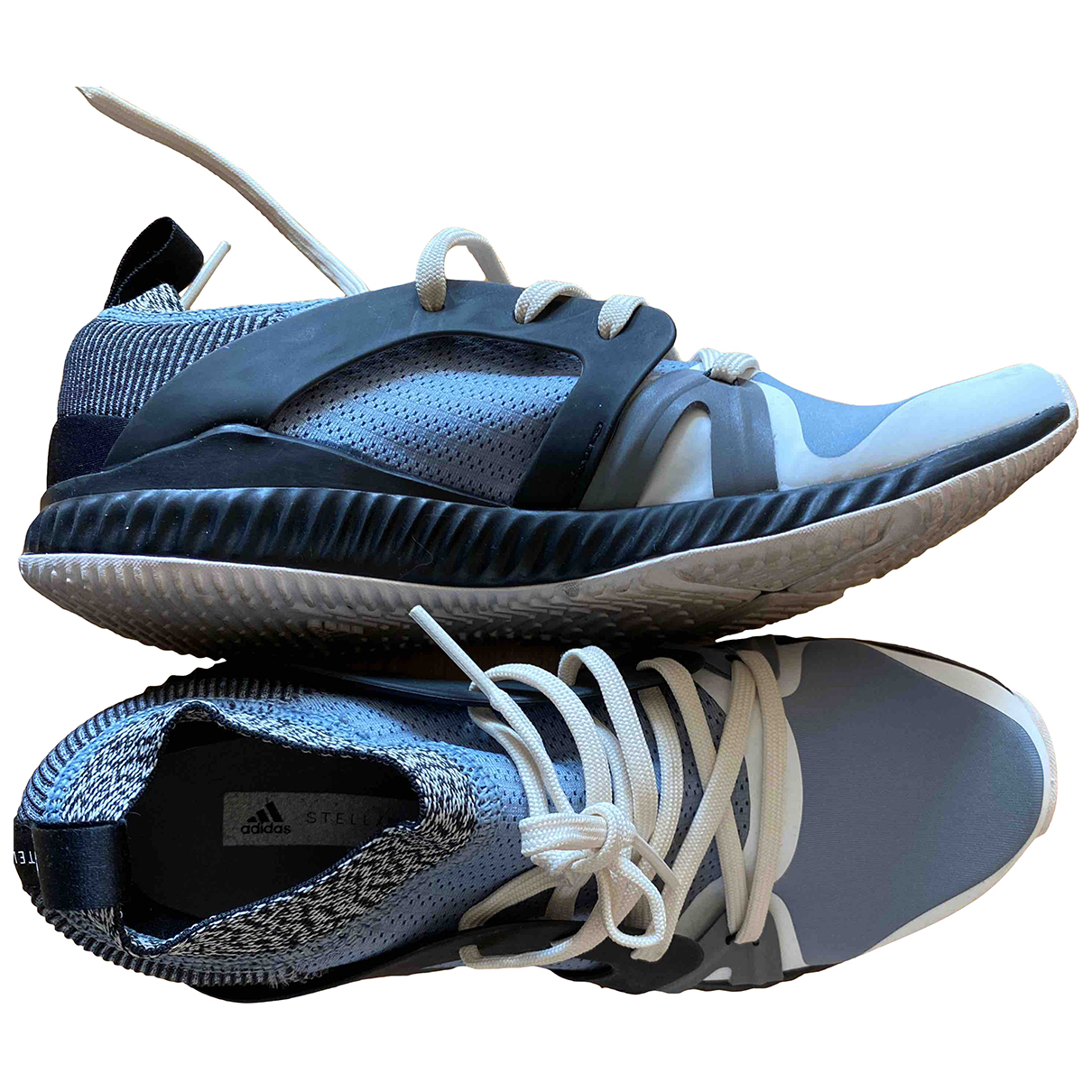Stella Mccartney Pour Adidas - Baskets   pour femme en toile - bleu