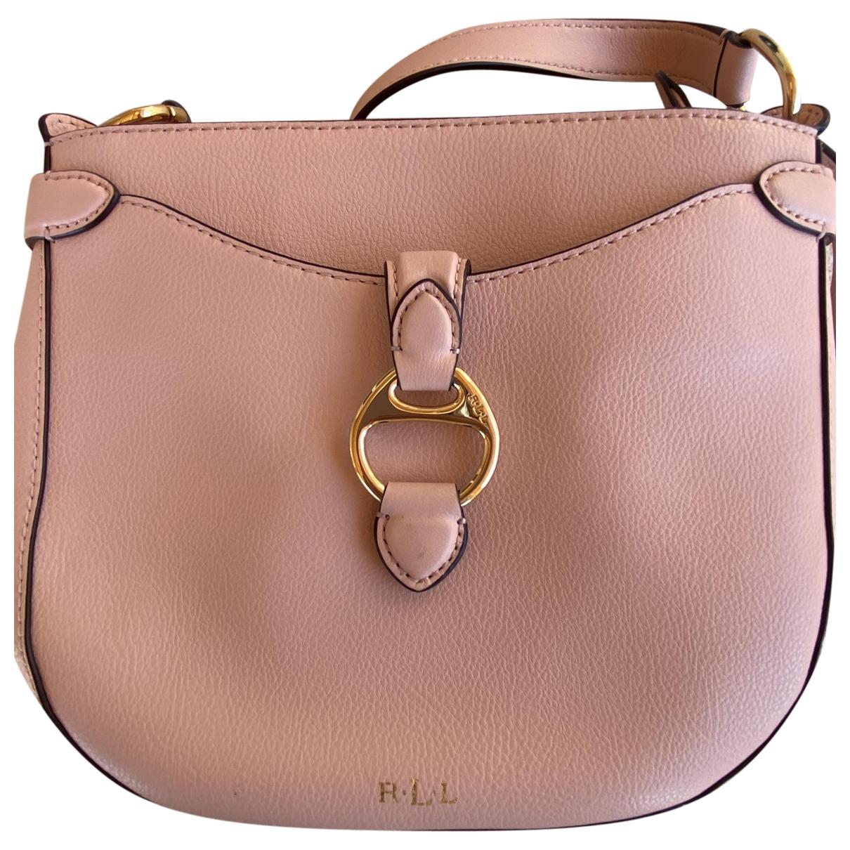 Lauren Ralph Lauren \N Pink Leather handbag for Women \N