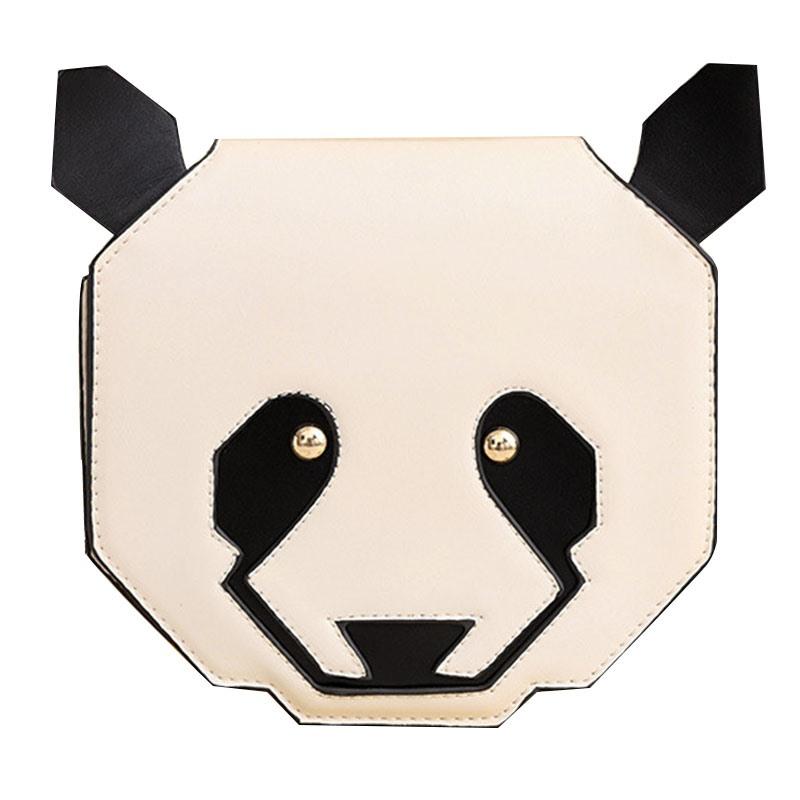 Ericdress Likable Cartoon Panda Shape Crossbody Bag