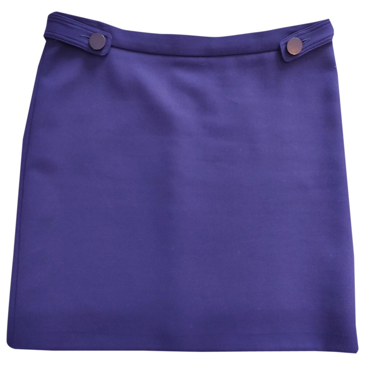 Tara Jarmon \N Purple skirt for Women 38 FR