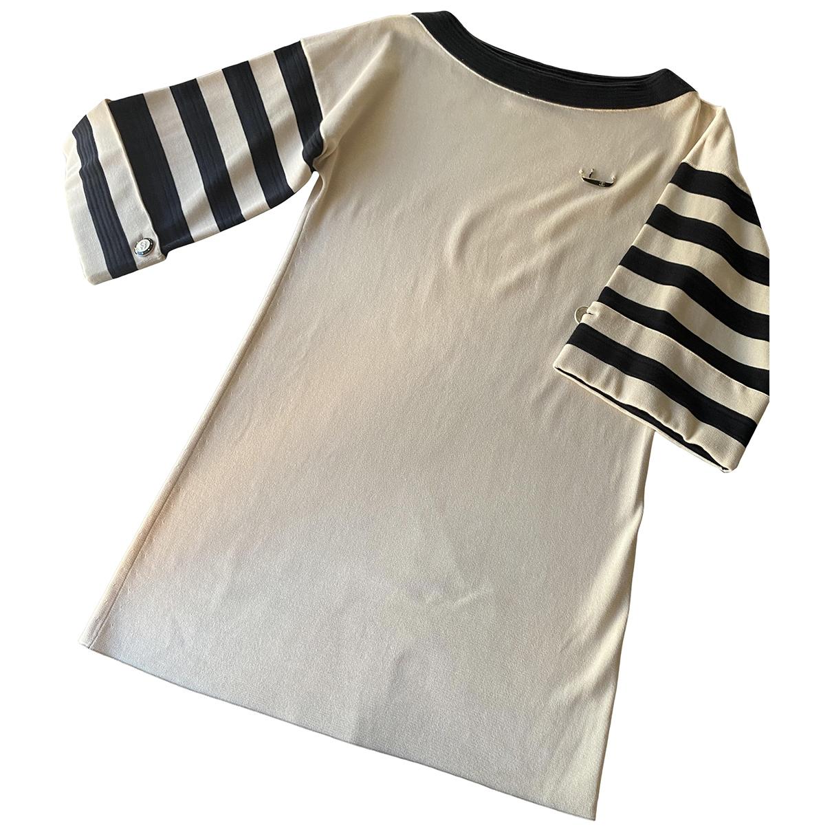 Chanel \N Beige Cotton dress for Women 34 FR
