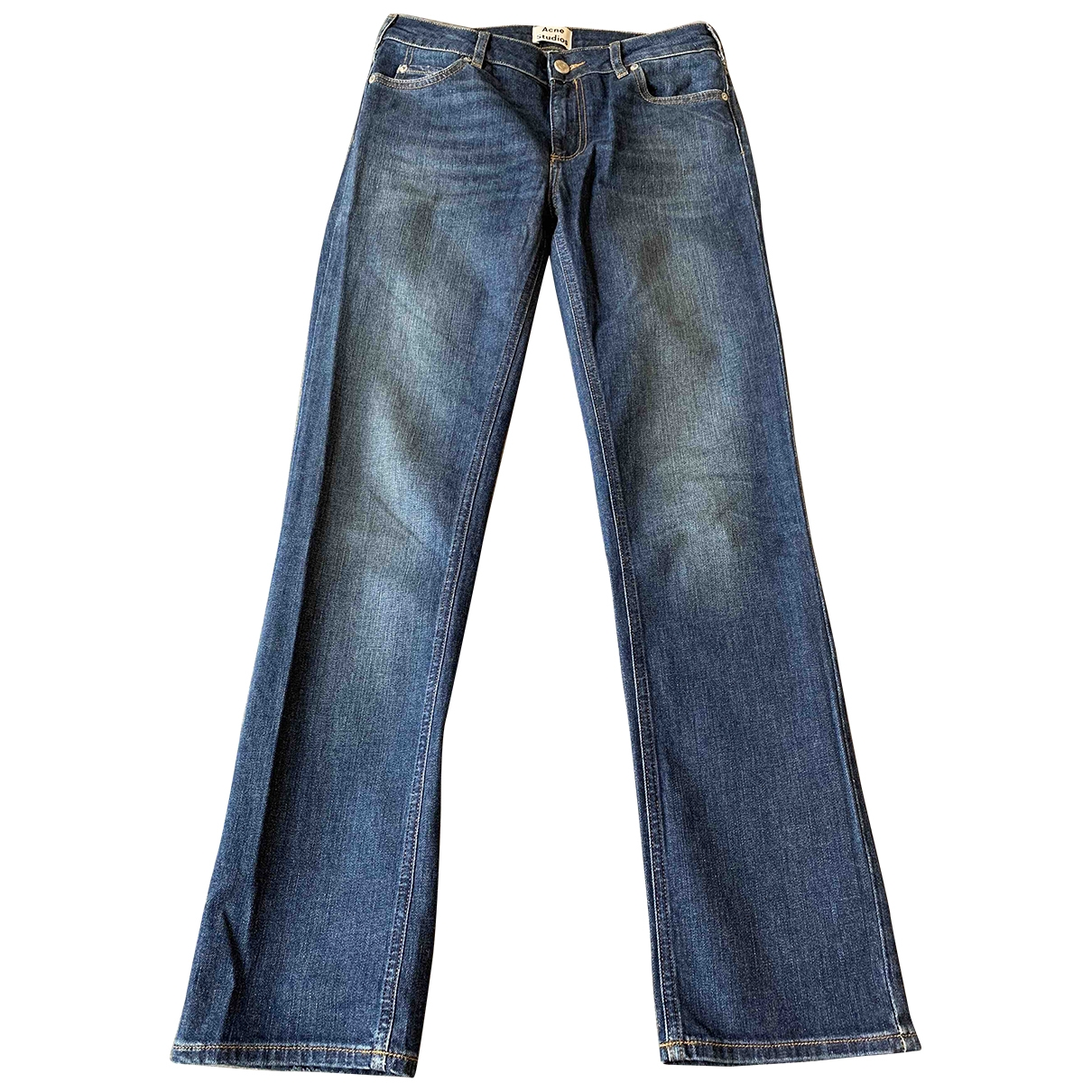 Acne Studios \N Navy Denim - Jeans Jeans for Women 28 US