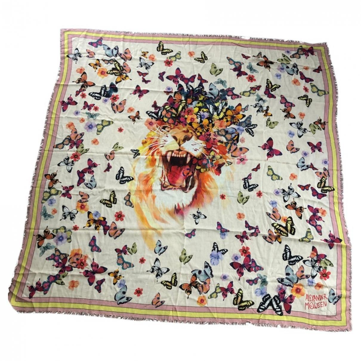 Alexander Mcqueen \N Silk scarf for Women \N
