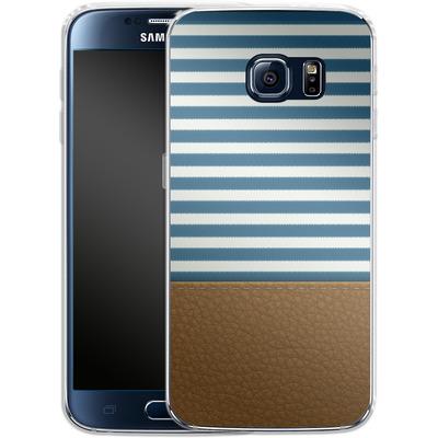 Samsung Galaxy S6 Silikon Handyhuelle - Nautical von caseable Designs
