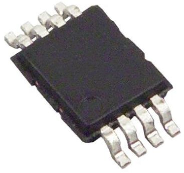 Analog Devices AD5553CRMZ, Serial DAC, 2Msps, 8-Pin uSOIC