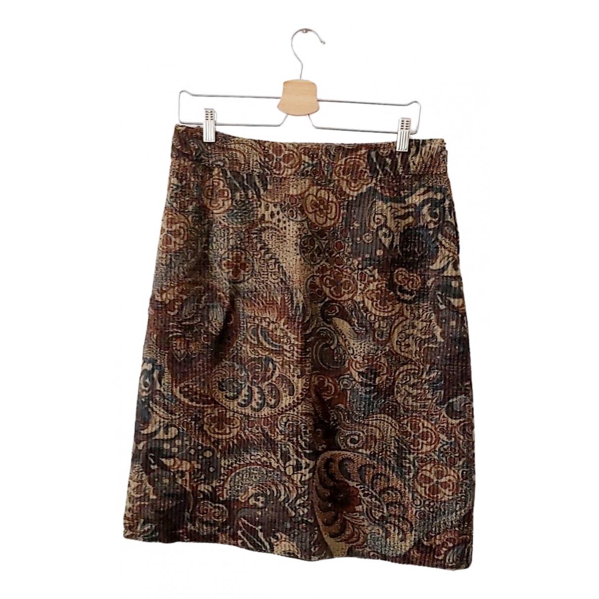 - Jupe Oversize pour femme en coton - multicolore