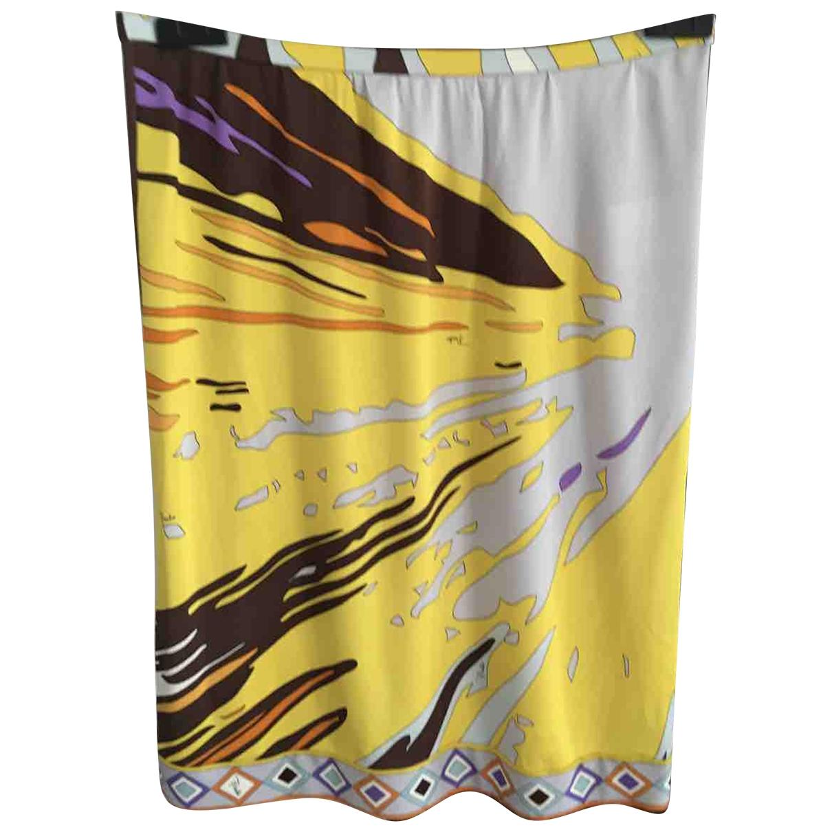 Emilio Pucci \N Multicolour Silk skirt for Women 34 FR