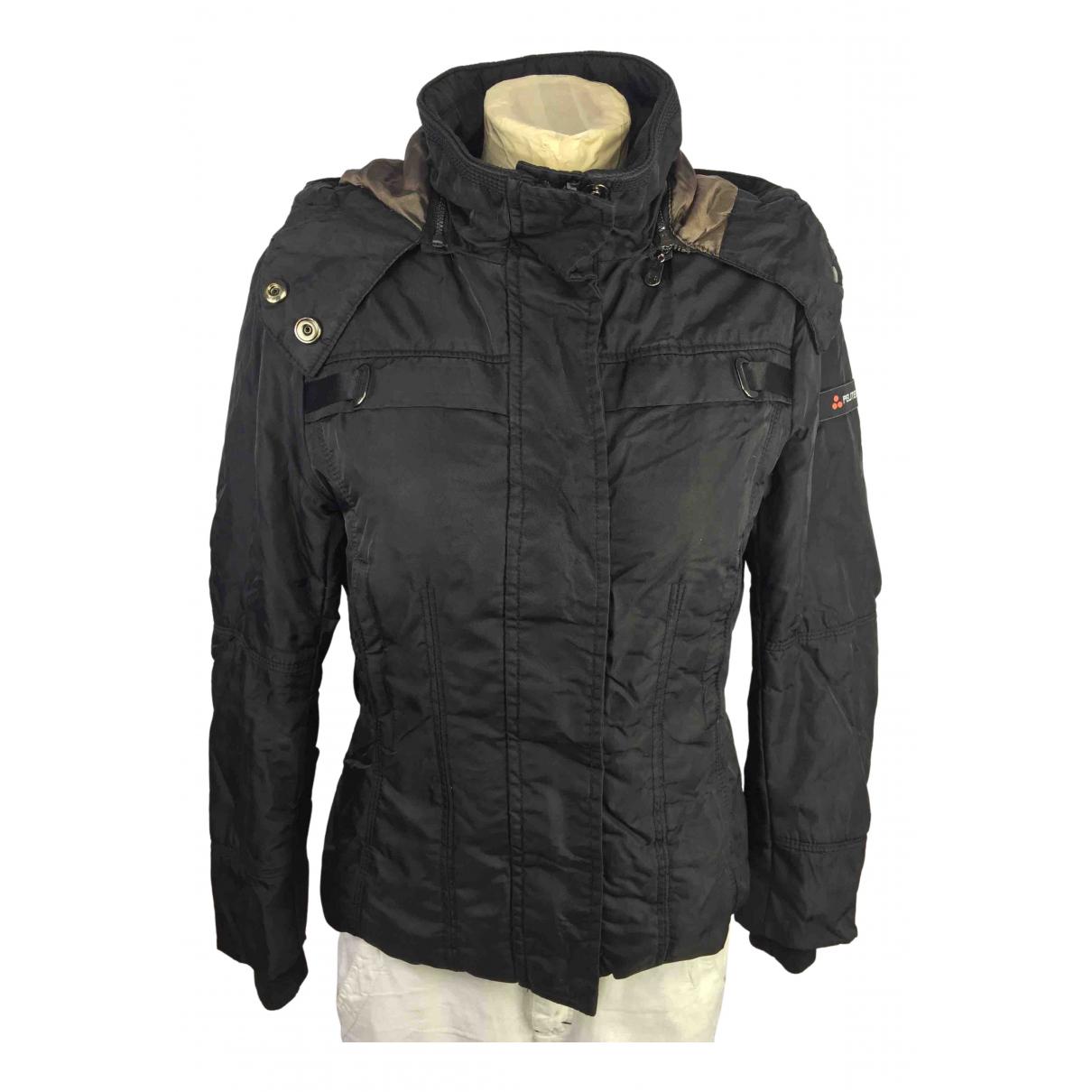 Peuterey N Black jacket for Women M International