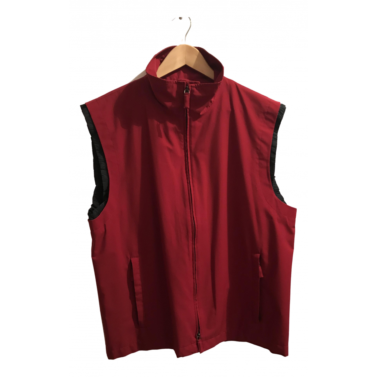 Prada \N Burgundy jacket for Women 54-56 IT