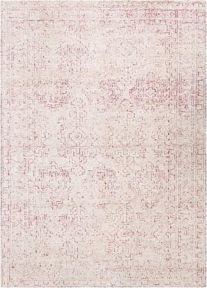 Bella LLB-2303 6' x 9' Rectangle Traditional Rug in Rose