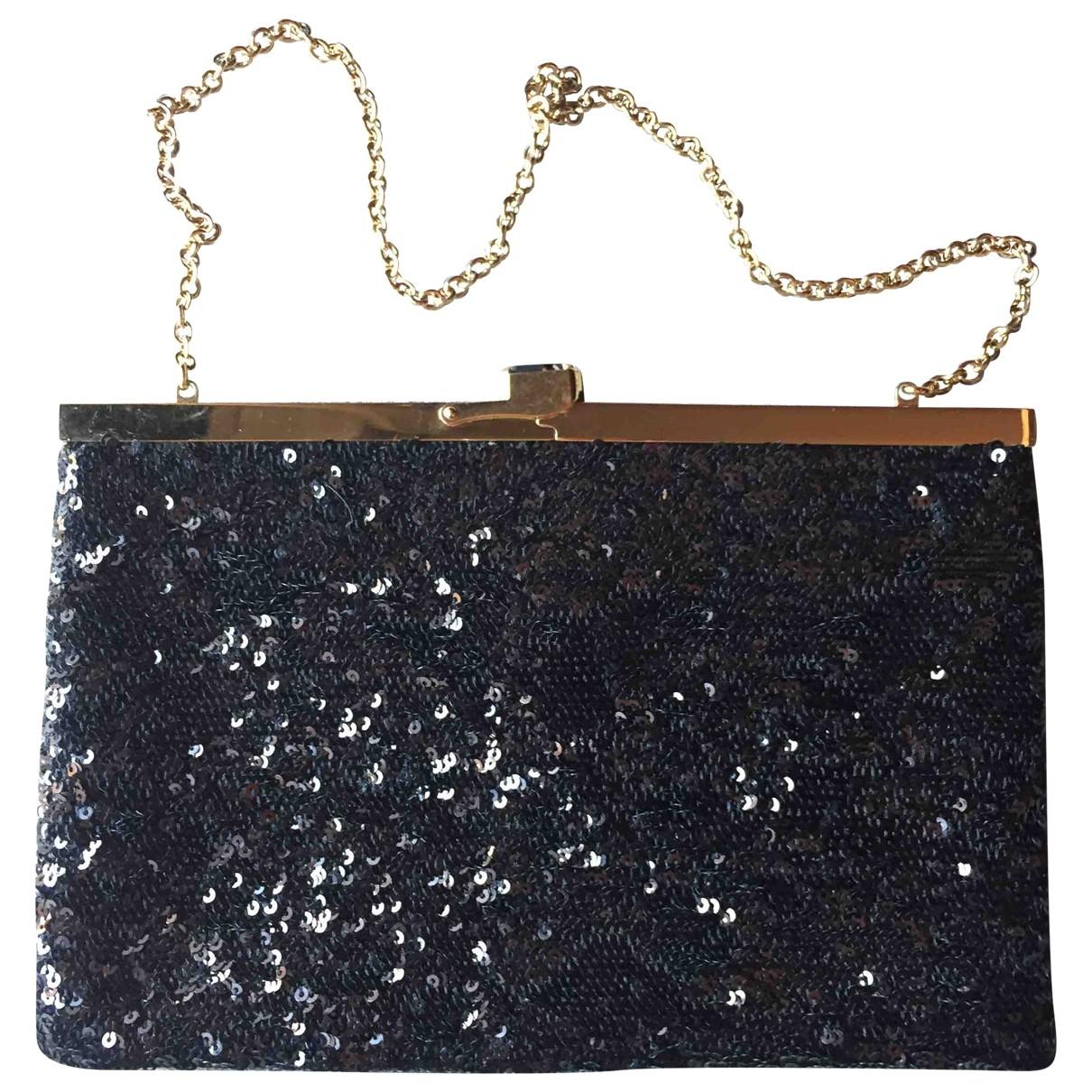 Dolce & Gabbana \N Black Glitter Clutch bag for Women \N