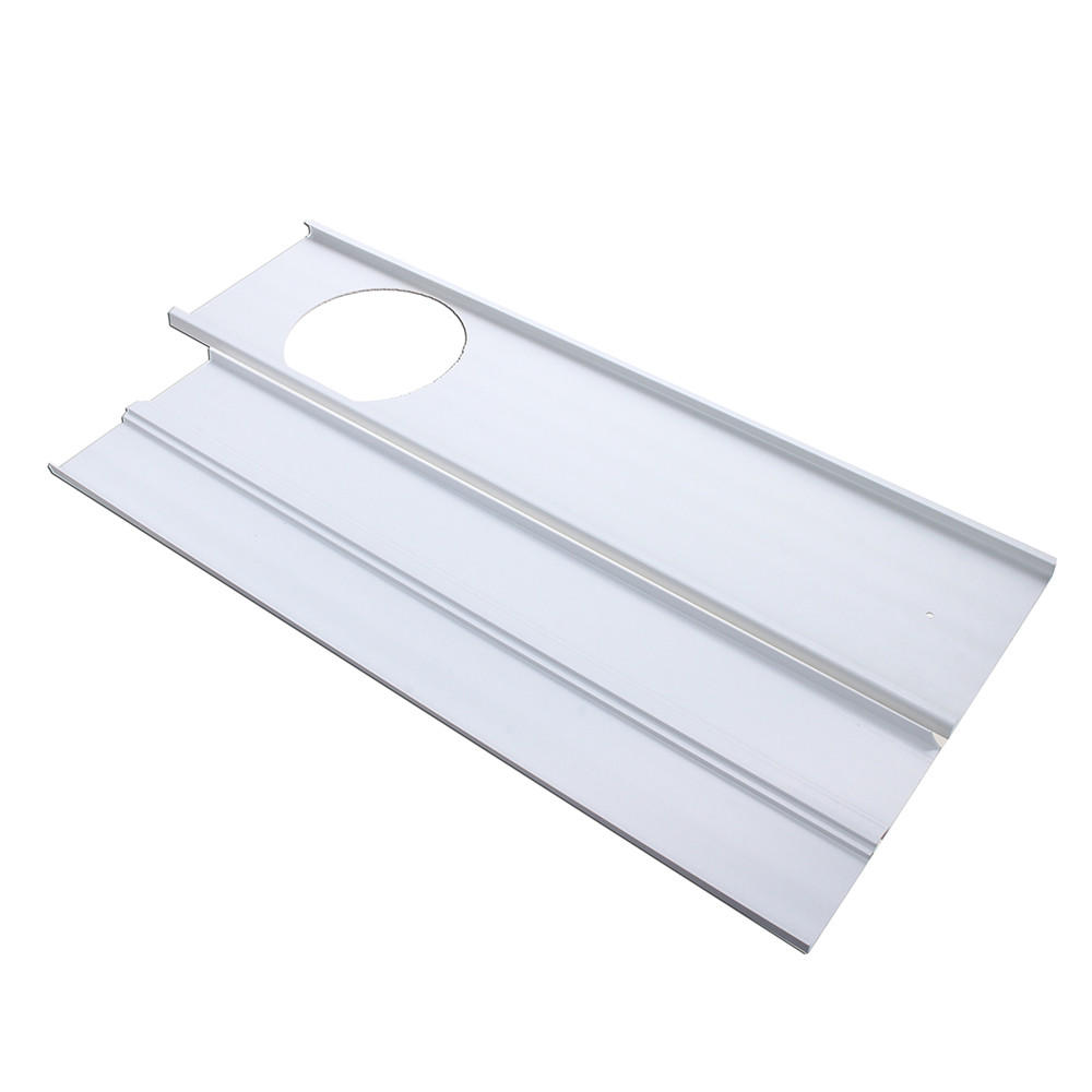 2PCS 1.2m Adjustable Window Slide Kit Plate Air Conditioner Wind Shield For Portable Air Conditioner
