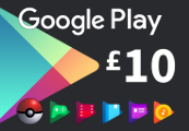 Google Play £10 UK Gift Card