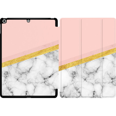 Apple iPad 9.7 (2018) Tablet Smart Case - Marble Slice von caseable Designs