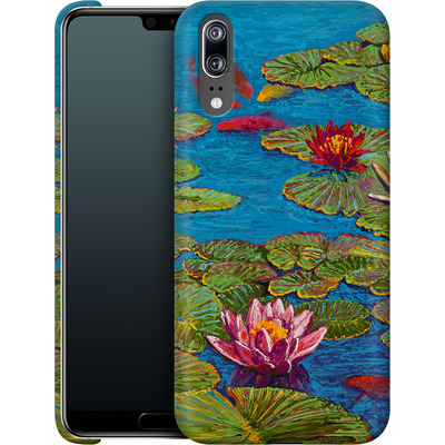 Huawei P20 Smartphone Huelle - Will Cormier - Six Koi in Lilly Pond von TATE and CO