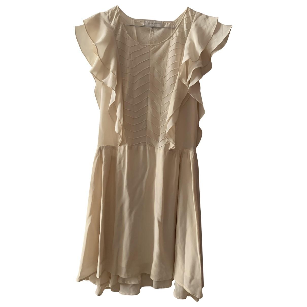 Camille De Dampierre \N Pink Silk dress for Women 40 FR