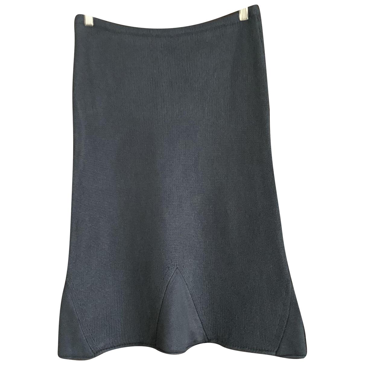 Falda midi de Cachemira Colombo