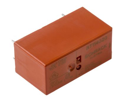 TE Connectivity , 20V dc Coil Non-Latching Relay SPDT, 12A Switching Current PCB Mount Single Pole