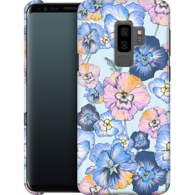 Samsung Galaxy S9 Plus Smartphone Huelle - Pretty Pansy von Stephanie Breeze