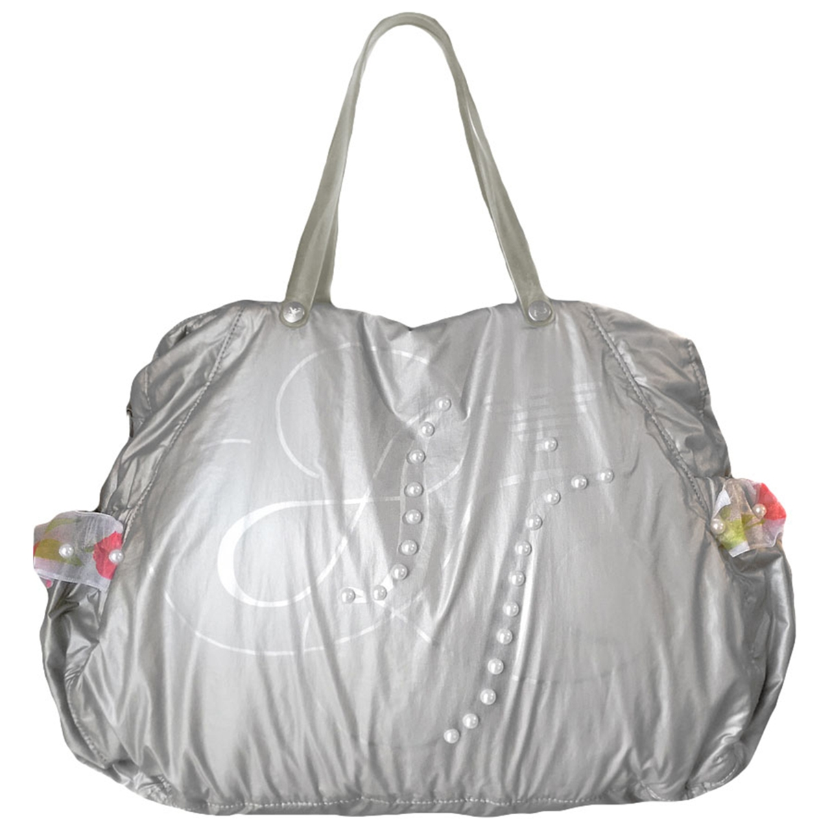 Armani Jeans \N Handtasche in  Silber Polyester