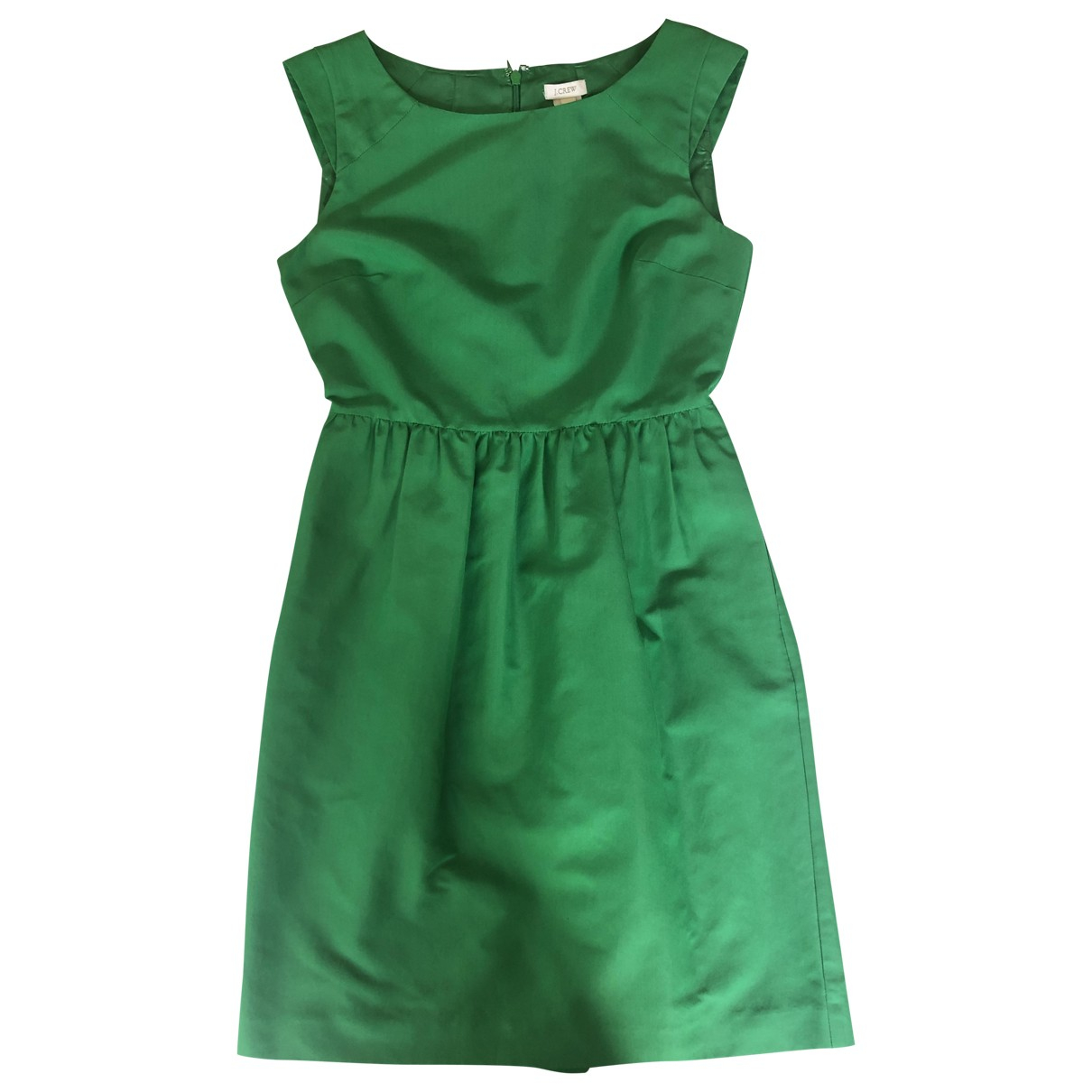 J.crew \N Green Silk dress for Women 2 US
