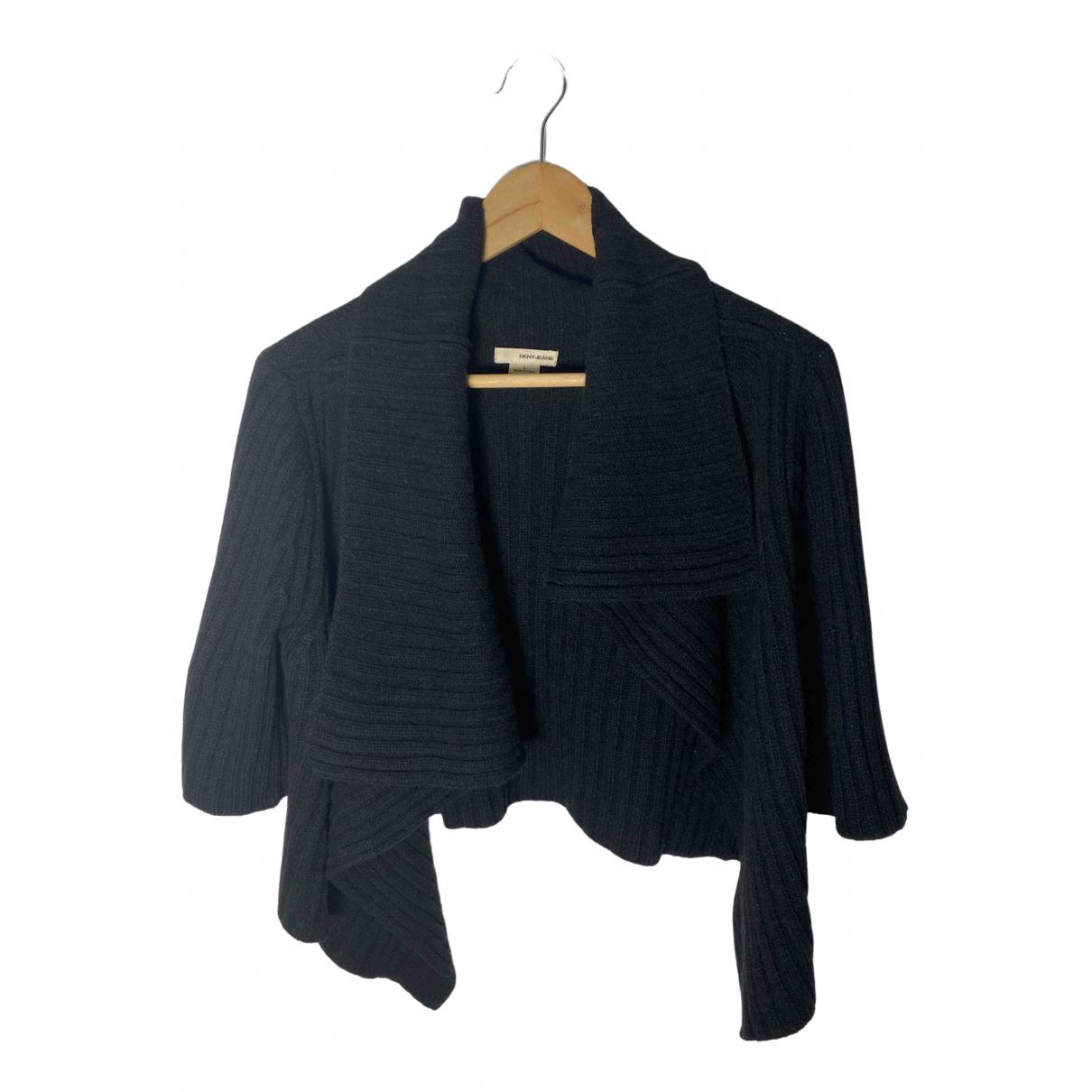 Dkny - Pull   pour femme en laine - noir