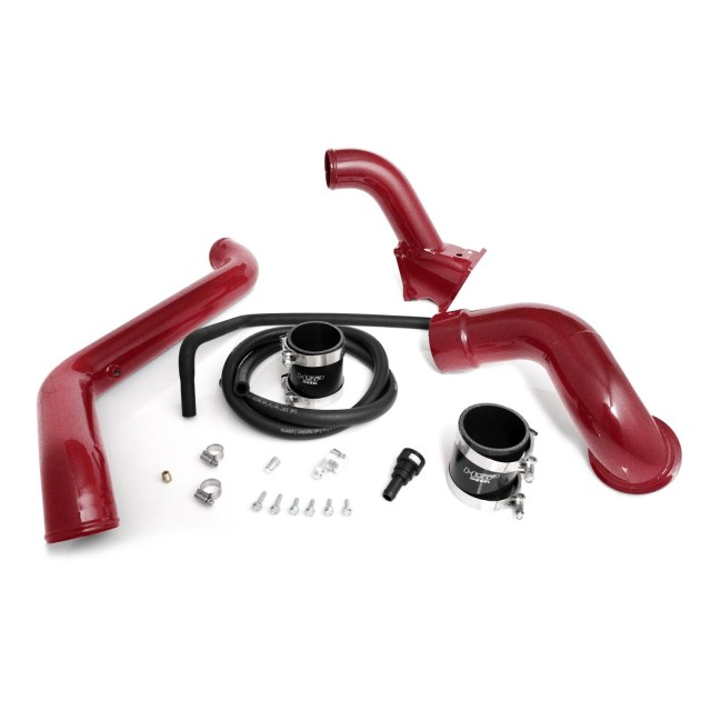 2011-2016 Chevrolet / GMC Max Flow Bridge/ Cold Side Tube/ Turbo Inlet Candy Red HSP Diesel 504-HSP-CR