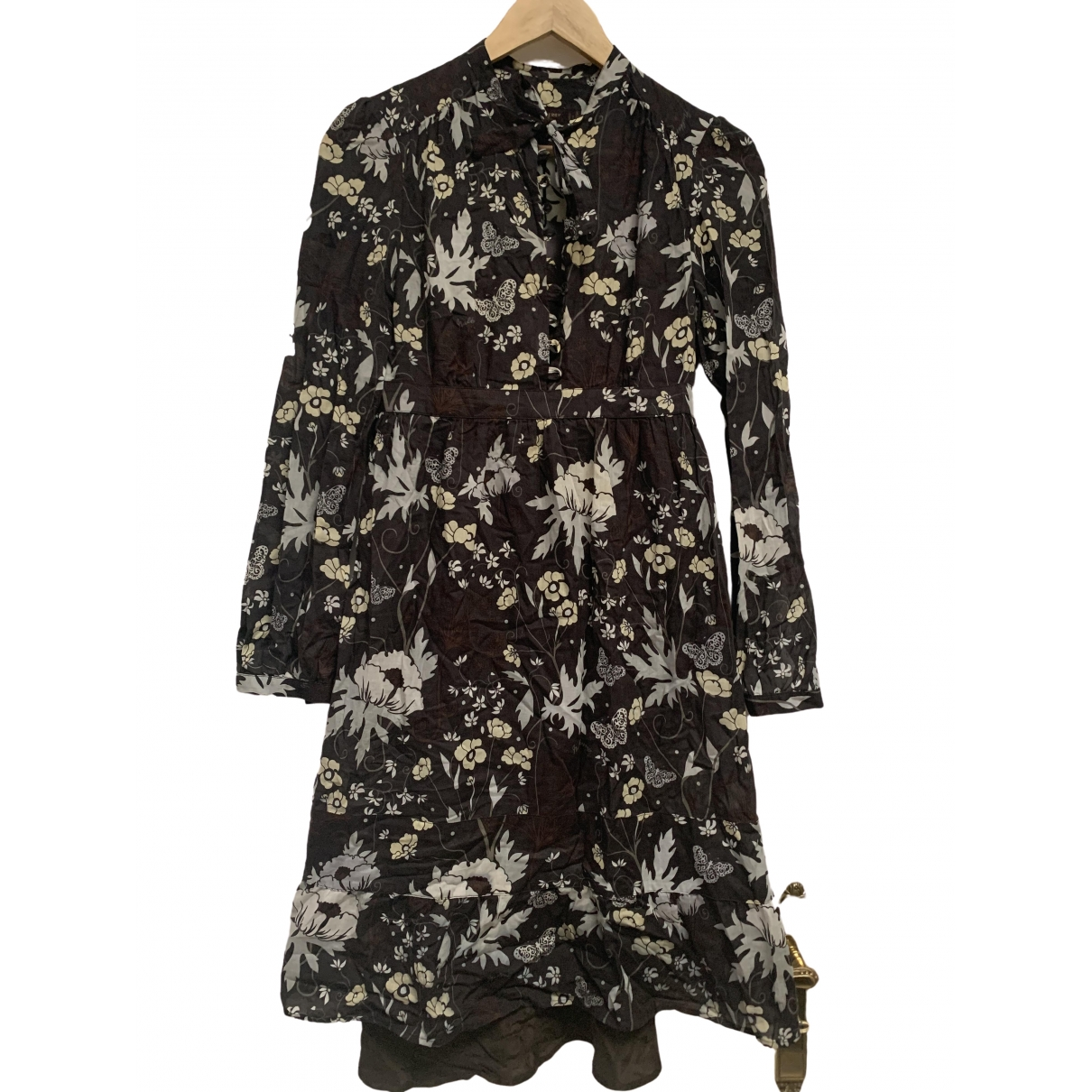 Mulberry \N Kleid in  Bunt Baumwolle