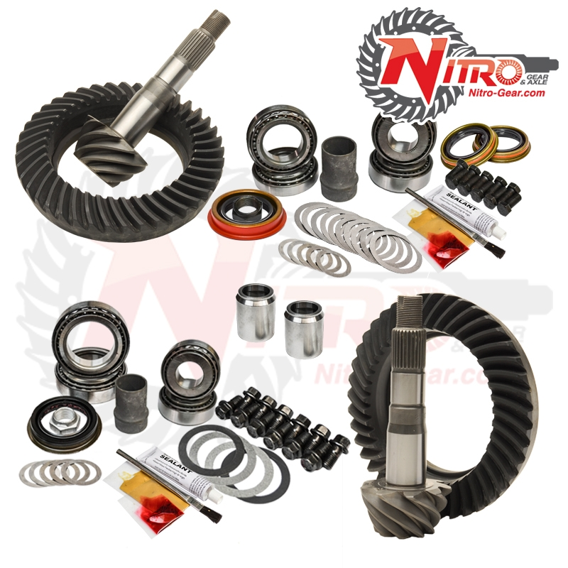95.5-04 Toyota Tacoma/00-06 Tundra W/O E-Locker 5.29 Gear Package Kit Nitro Gear and Axle