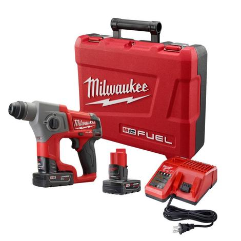 Milwaukee M12 Fuel™ 5/8 In. SDS Plus Rotary Hammer Kit