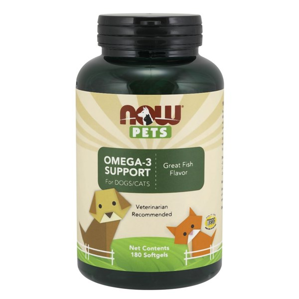 Omega-3 Support 180 Softgels by Now Foods