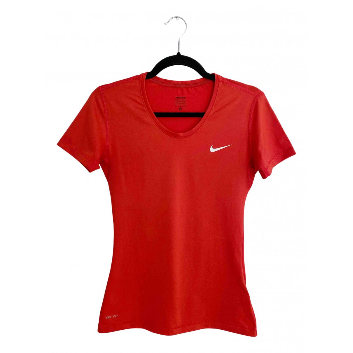 Nike - Top   pour femme - orange