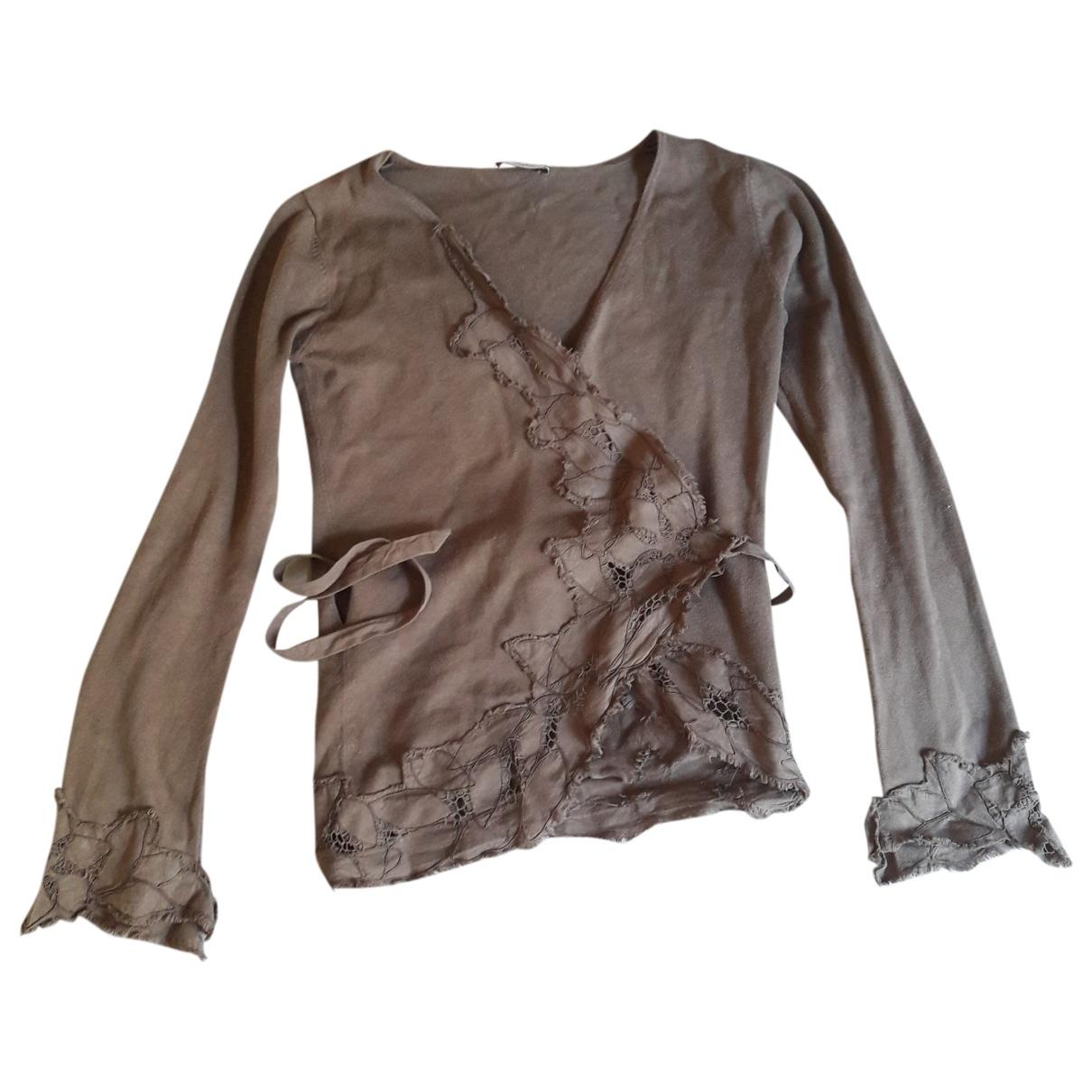 Max & Co \N Brown Cotton Knitwear for Women L International