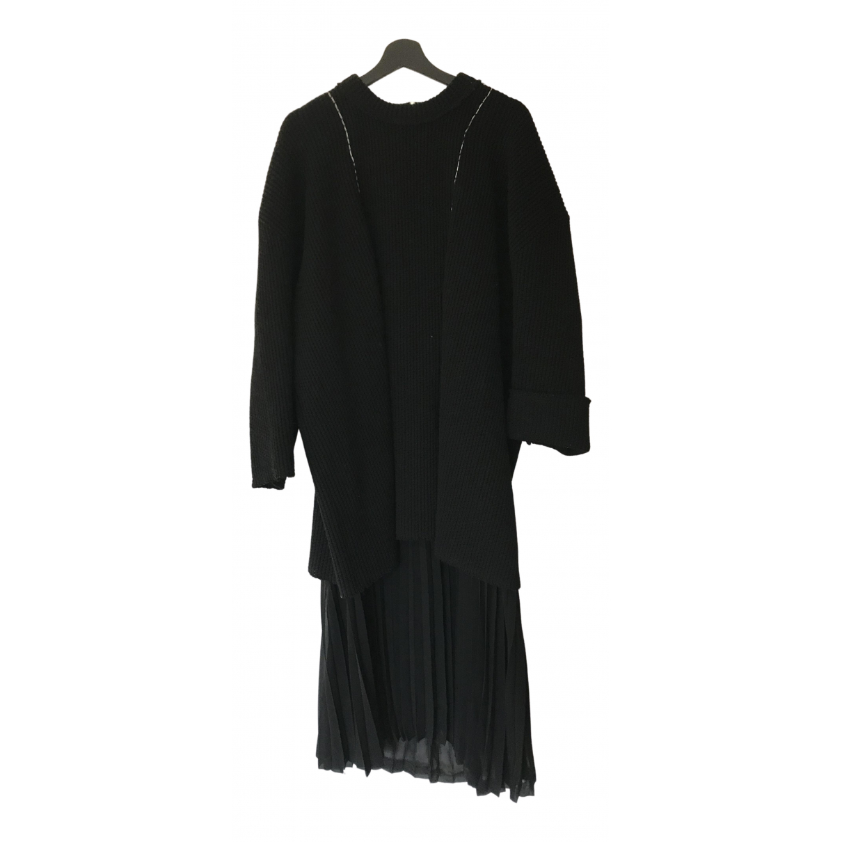 Comme Des Garcons N Black Wool dress for Women M International