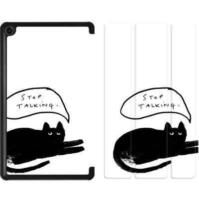 Amazon Fire 7 (2017) Tablet Smart Case - Stop Talking von caseable Designs